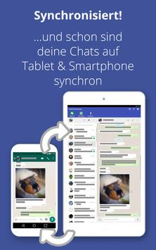 Tablet Messenger Screenshot 2