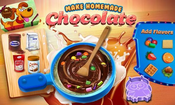 Chocolate Maker Crazy Chef screenshot 1
