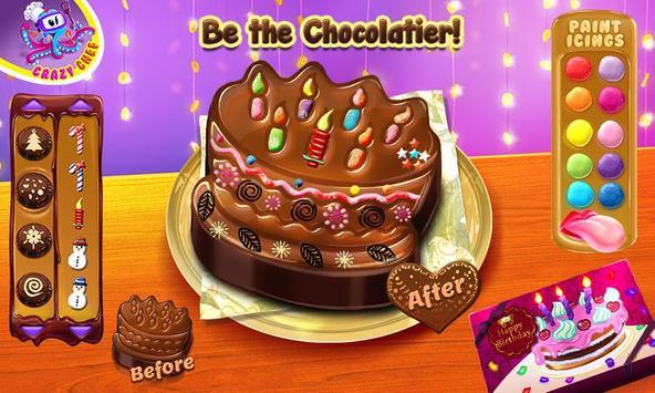 Chocolate Maker Crazy Chef screenshot 5