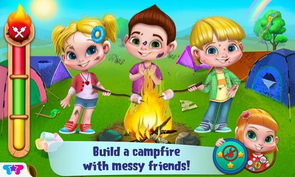 Messy Summer Camp Adventures screenshot 4