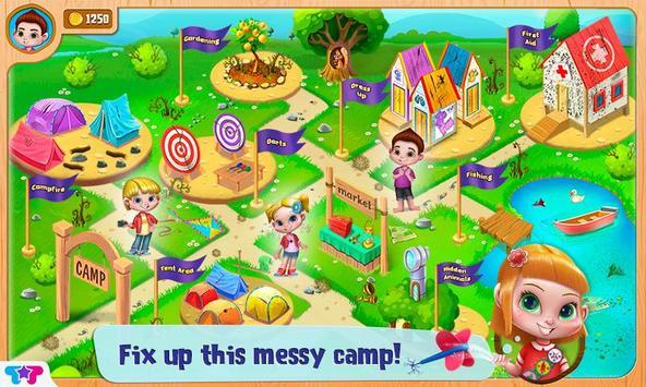 Messy Summer Camp Adventures screenshot 2