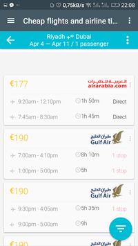 حجز تذاكر الطيران screenshot 2