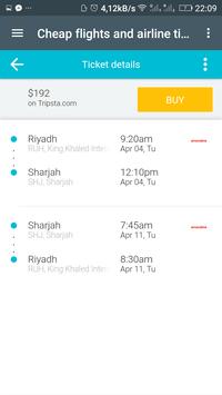 حجز تذاكر الطيران screenshot 7