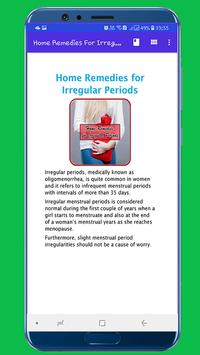 Home Remedies For Irregular Periods for Android - APK Download