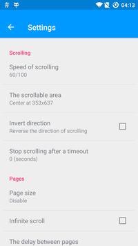 Automatic Scroll screenshot 1
