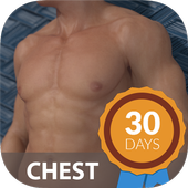 Bigger Chest In 30 Days - Chest Workouts icon