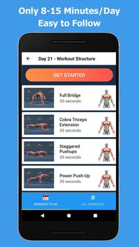 Bigger Chest In 30 Days - Chest Workouts screenshot 3