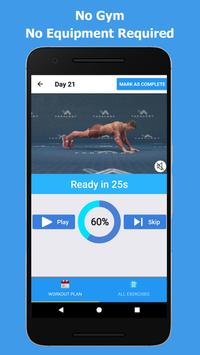Bigger Chest In 30 Days - Chest Workouts screenshot 4