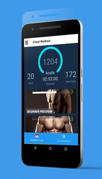 Bigger Chest In 30 Days - Chest Workouts screenshot 6