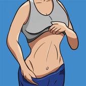 演習は、腹の脂肪を失うため演習は、腹の脂肪を失うために - 7分腹筋ワークアウトに アイコン