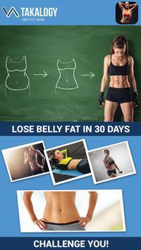 演習は、腹の脂肪を失うため演習は、腹の脂肪を失うために - 7分腹筋ワークアウトに スクリーンショット 1