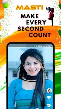 Masti - Short Video App poster