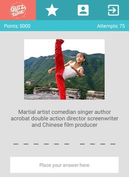 QuizTime - Celebrities screenshot 4