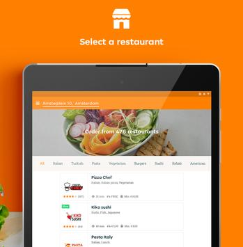 Thuisbezorgd.nl - Order food online screenshot 13