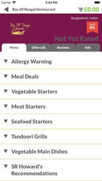 Bay of Bengal Restaurant screenshot 1