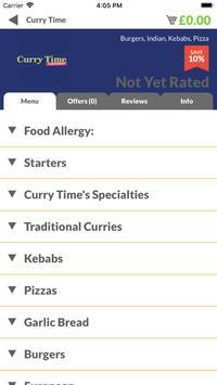 Curry Time screenshot 1