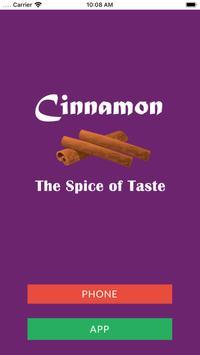 Cinnamon Takeaway poster