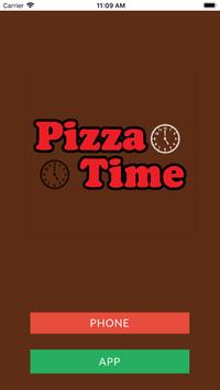 Pizza Time Fitzwilliam poster