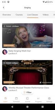 TakeLessons Live captura de pantalla 3