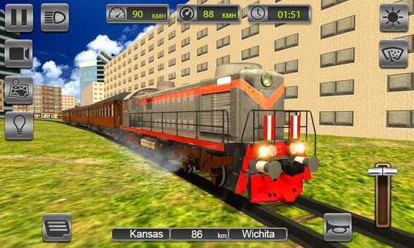 Train Drive Free 2019 - Bullet Train Driving Sim poster