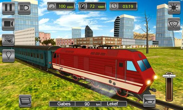 Train Drive Free 2019 - Bullet Train Driving Sim screenshot 1
