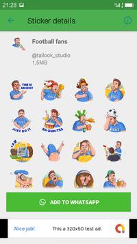 Free FootBall Funny Sticker For WAStickerApp screenshot 4