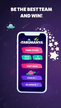 TABUMANIA 2020 Taboo Game Heads Up Tabu Charades poster