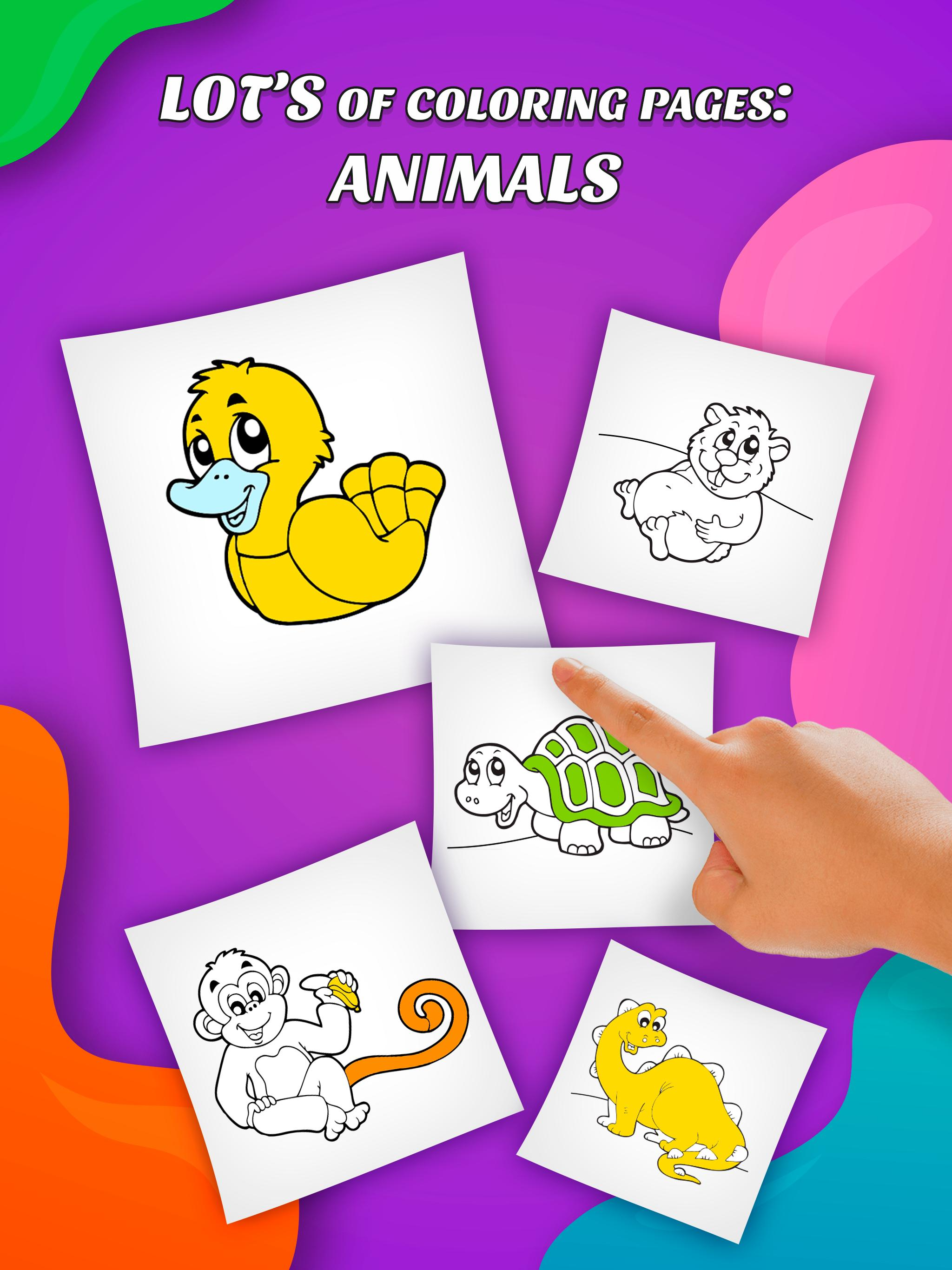 Super Coloring Animals Toddlers For Android Apk Download