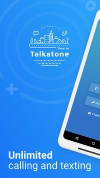 Talkatone ポスター