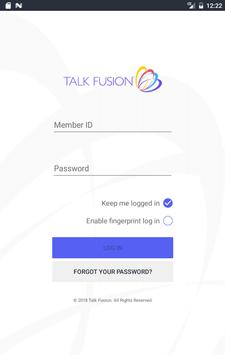 Talk Fusion poster