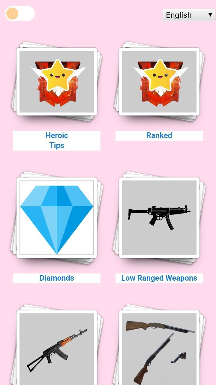 Guide For Free Fire Diamonds Tips And Trucs For