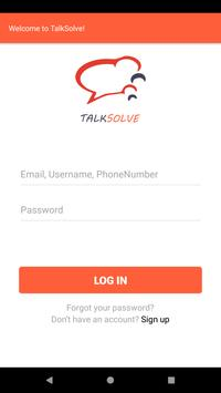 TalkSolve poster