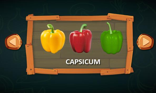 Vegetable Names screenshot 3