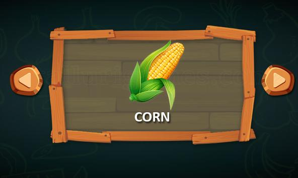 Vegetable Names screenshot 2