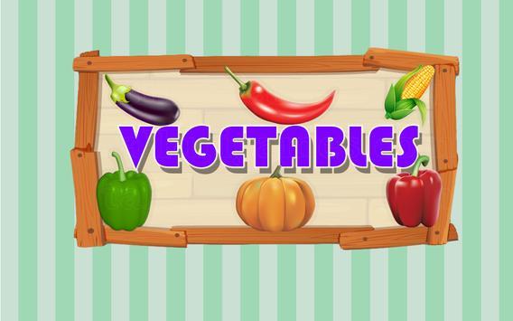 Vegetable Names screenshot 4