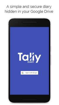 Tally Diary poster