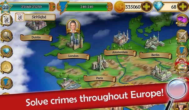 Hidden Objects: Mystery Society Crime Solving screenshot 6