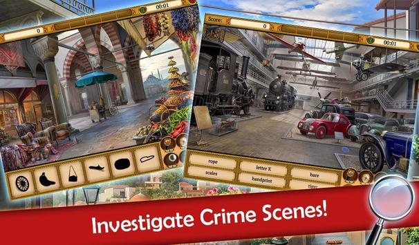 Hidden Objects: Mystery Society Crime Solving screenshot 2
