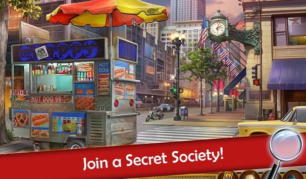 Hidden Objects: Mystery Society Crime Solving screenshot 3