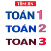 TOÁN 1 2 3 - TOÁN LỚP 1 - TOÁN LỚP 2 - TOÁN LỚP 3 icon