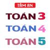 TOÁN 3 4 5 - TOÁN LỚP 3 - TOÁN LỚP 4 - TOÁN LỚP 5 Zeichen