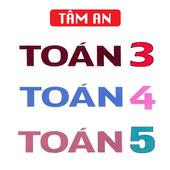 TOÁN 3 4 5 - TOÁN LỚP 3 - TOÁN LỚP 4 - TOÁN LỚP 5 icon