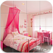 Tile Puzzle Girls Bedrooms icon