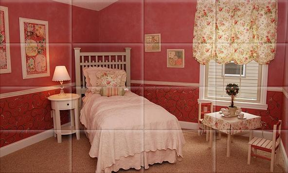 Tile Puzzle Girls Bedrooms screenshot 4