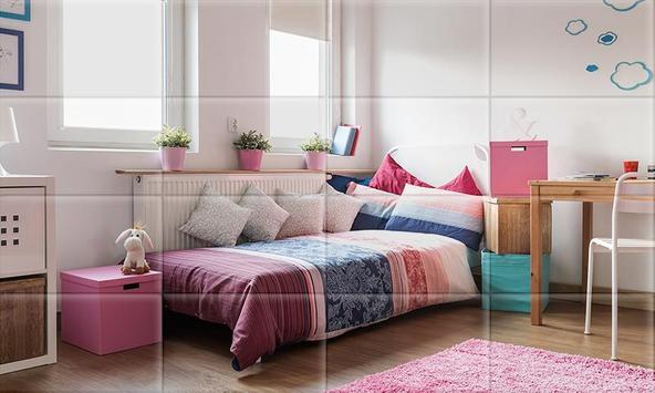 Tile Puzzle Girls Bedrooms screenshot 5