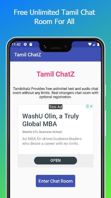 free tamil chat room without registration