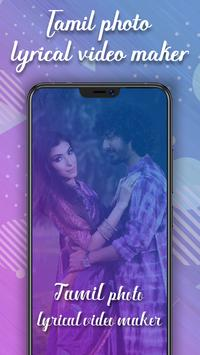 Tamil Lyrical Photo Video Status Maker poster