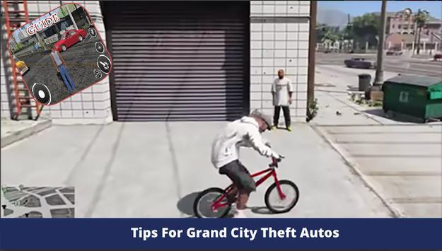 Tips For Grand City Autos - walkthrough poster
