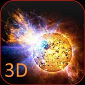 Cosmos 3D Live Wallpaper icon
