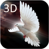 Dove 3D Live Wallpaper icon
